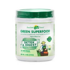 Amazing Grass Detox & Digest Green Superfood, 7.4 oz.