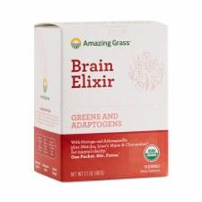 Amazing Grass Brain Elixir, 10 pack