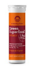 Amazing Grass Tropical Energy Green Superfood, 10 tablets