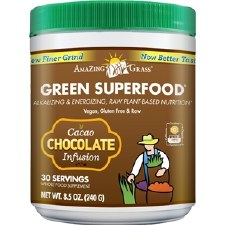 Amazing Grass Chocolate Green Superfood, 8.5 oz.