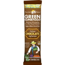 Amazing Grass Chocolate Green Superfood, single serving packet
