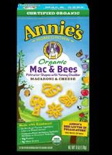 Annie's Homegrown  Organic Mac & Bees, 6 oz.