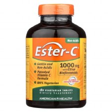 American Health Ester-c 1000mg with Citrus Bioflavonoids, 180 vegetarian tablets