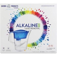 New Wave Enviro Alkaline Plus Pitcher, 3.5 Liters