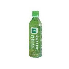 Alo Awaken Wheatgrass Aloe Drink, 16.9 oz.