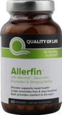 Quality of Life Allerifin, 60 vegetarian capsules
