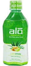 Alo Lime Spark Drink, 11.8 oz.