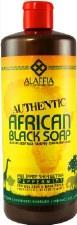Alaffia Authentic African Black Soap - Peppermint 32 fl oz