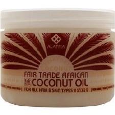 Alaffia Everyday Coconut Fair Trade Coconut Oil 11oz