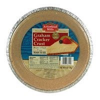 "Arrowhead Mills Organic Graham Cracker Pie Crust, 9 "", 6 oz."