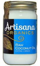 Artisana Extra Virgin Coconut Oil  Raw Organic, 14 oz