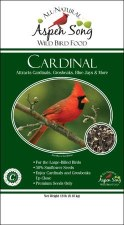 Aspen Song Cardinal Wild Bird Food, 18 lb.