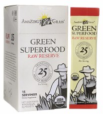 Amazing Grass Green Food Raw Reserve, 1 packet