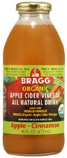 Bragg Organic Apple Cinnamon Apple Cider Vinegar Drink, 16 oz.