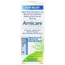 Boiron Arnicare Arnica Cream & Blue Tube Value Pack, Topical & Oral Pellets