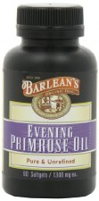Barlean's Evening Primrose Oil, 60 soft gels