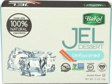 Bakol Unflavored Jel Dessert, 3 oz.