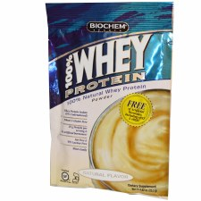 Bio Chem Natural Flavor 100% Whey Protein Single Serve Packet, .82 oz.