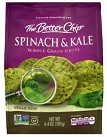 The Better Chip Spinach & Kale Whole Grain Chip, 6.4 oz.
