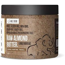 Base Culture Gingerbread Raw Almond Butter, 16 oz.
