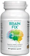 Natural Factors 3 Brains Brain Fix, 90 vegetarian capsules