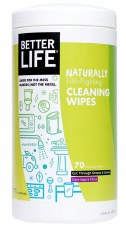 Better Life Clary Sage & Citrus Cleaning Wipes, 70 sheets