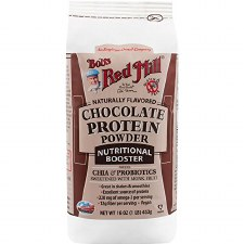 Bob's Red Mill Chocolate Protein Powder Nutritional Booster, 16 oz.
