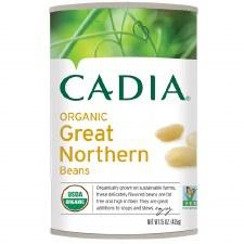 Cadia Organic Great Northern Beans, 15 oz.