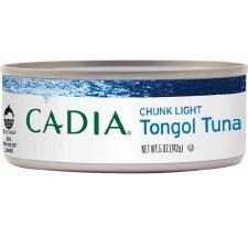 Cadia Chunk Light Tongol Tuna, 5 oz.