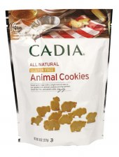 Cadia All Natural Gluten Free Animal Cookies, 8 oz.