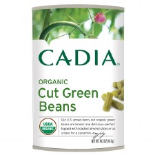 Cadia Organic Cut Green Beans, 14.5 oz.