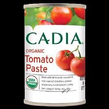 Cadia Organic Diced Tomatoes, 14.5 oz.