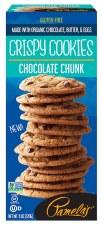 Pamela's Gluten Free Chocolate Chunk Crispy Cookie, 6 oz.
