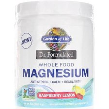 Garden of Life Dr. Formulated Raspberry Lemon Magnesium, 7 oz.