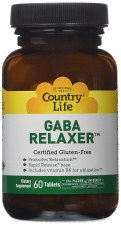 Country Life GABA Relaxer, 60 tablets