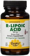 Country Life R-Lipoic Acid, 60 vegetarian capsules