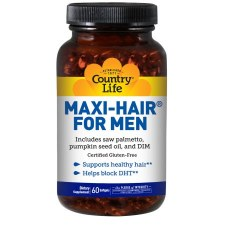 Country Life Maxi-Hair for Men, 60 soft gels