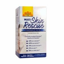 Country Life Maxi Skin Rescue, 30 vegetarian capsules