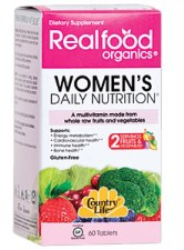 Country Life Her Daily Nutrition multivitamin, 60 tablets