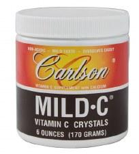 Carlson Laboratories Mild-C Crystals, 6 oz.