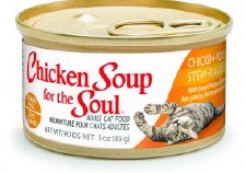 Chicken Soup for the Cat Lover's Soul Chicken Stew with Sweet Potatoes & Spinach Adult Cat Food, 3 oz.
