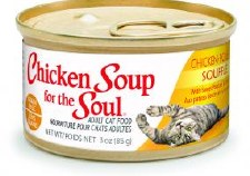 Chicken Soup for the Cat Lover's Soul Chicken Souffle with Sweet Potatoes & Spinach Adult Cat Food, 3 oz.