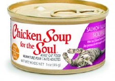 Chicken Soup for the Cat Lover's Soul Salmon Souffle with Red Skinned Potatoes & Spinach, 3 oz.