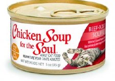 Chicken Soup for the Cat Lover's Soul Beef Souffle with Red Skinned Potatoes & Spinach Adult Cat Food, 3 oz.