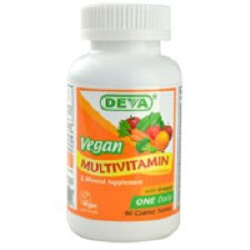DEVA Vegan Multivitamin & Mineral Supplement, 90 tablets