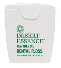 Desert Essence Tea Tree Dental Floss, 50 yards