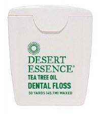 Desert Essence Tea Tree Dental Floss, 50 yards