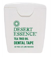 Desert Essence Tea Tree Oil Dental Tape, 30 yards