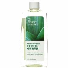 Desert Essence Tea Tree Oil Mouthwash, 8 oz.