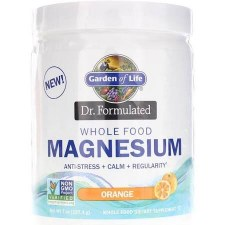 Garden of Life Dr. Formulated Orange Magnesium, 7 oz.